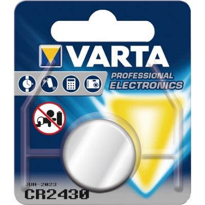 PILA BOTON LITIO CR2430 3V VARTA VARTA