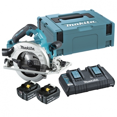 MAKITA DHS782PT2J SIERRA CIRCULAR 190MM KIT 2 BATERIAS LITIO