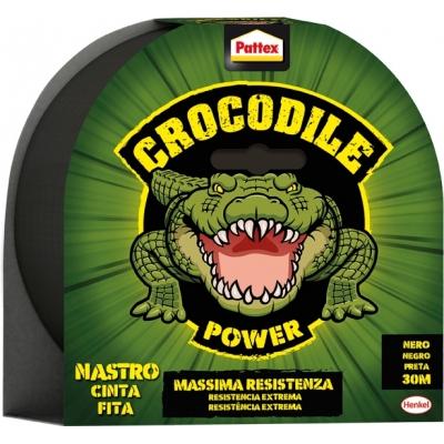 PATTEX CINTA ADH.CROCODILE 2502183 48MMX30M NGR