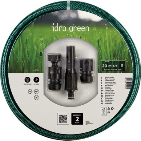 FITT MANGUERA IDRO KIT GREEN 23115201 15X20MT