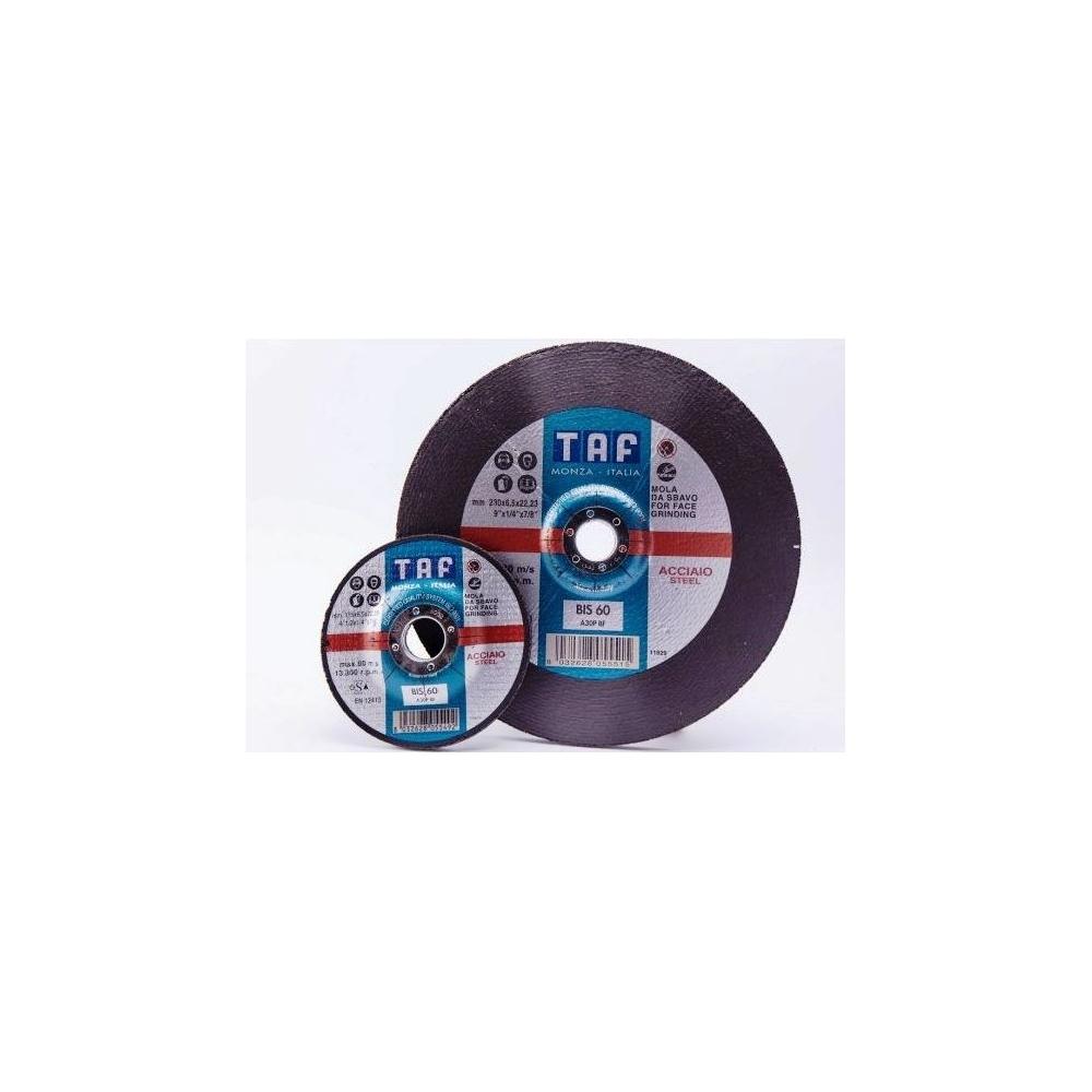 DISCO DESBASTE 115 X 6,5 TAF BIS60