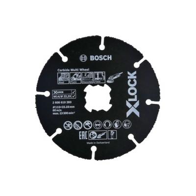 BOSCH DISCO MULTIWHEEL CARBURO X-LOCK 125X22,4