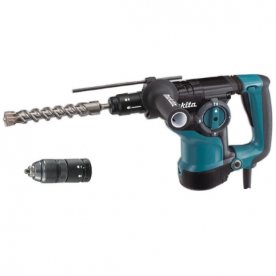 MAKITA HR2811FT MARTILLO PERFORADOR SDS-PLUS 800W + PORTABROCAS