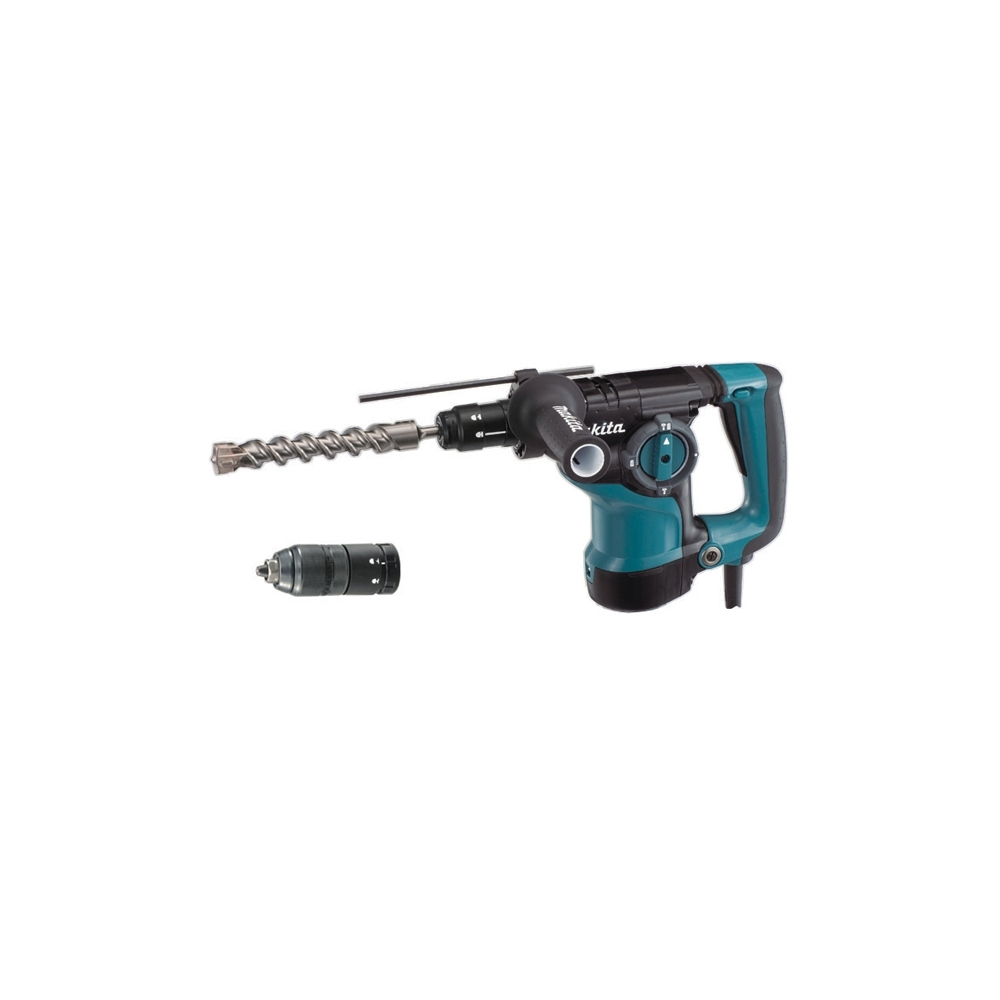 MAKITA HR2811FT MARTILLO PERFORADOR SDS-PLUS  800W + PORTABROCAS Y BROCAS
