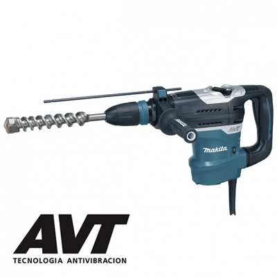 MAKITA HR4013C MARTILLO COMBINADO SDS-MAX 1100W + SET DEMOLICIÓN