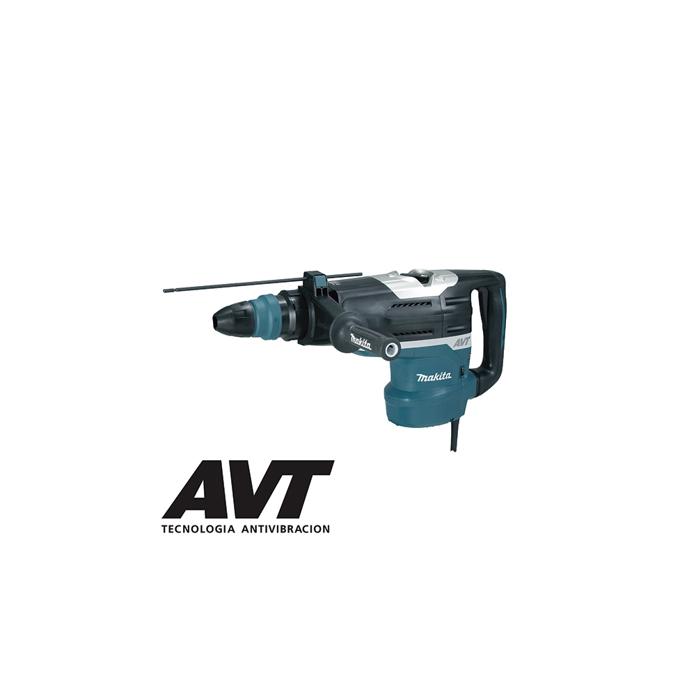 MAKITA HR5212C MARTILLO COMBINADO SDS-MAX 1510W + SET DEMOLICIÓN