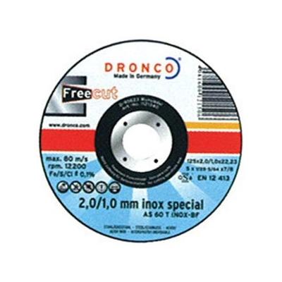DRONCO DISCO AS60T INOX 115X2/1X22,2 LATA 10 UDS