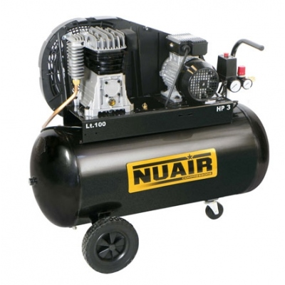 NUAIR COMPRESOR CORREAS B2800B-CM 3HP 100L