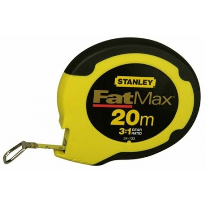 STANLEY CINTA METRICA ACERO INOX 034133-20M