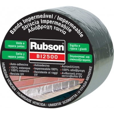 RUBSON BANDA IMPERMEABLE BI 2500 646248 5MX10CM