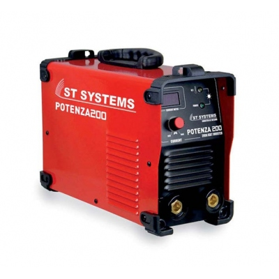ST SYSTEMS EQUIPO SOLDAR INVERTER POTENZA 200 C/ACC