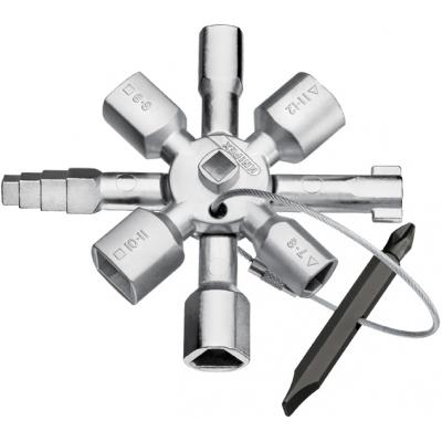 KNIPEX LLAVE CABINAS CONTROL TWINKEY 001101