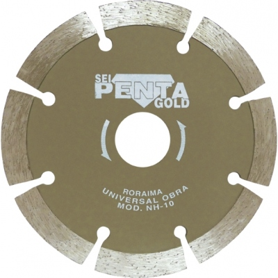 PENTA DISCO DIAMANTE NH-10 230 MAT.CONSTRUC.