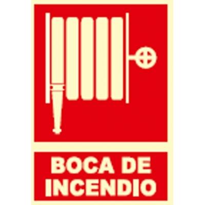 JG SEÑALIZACION SEÑAL FOTOLUMINES.BOCA INCENDIO EX014