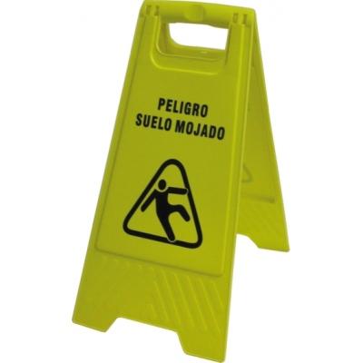 JG SEÑALIZACION SEÑAL PLEGABLE SUELO MOJADO 106 30X63CM