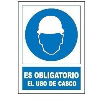 JG SEÑALIZACION SEÑAL OBLIGATORIA USO CASCO SO800