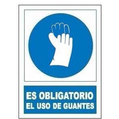 JG SEÑALIZACION SEÑAL OBLIGATORIA USO GUANTES SO802