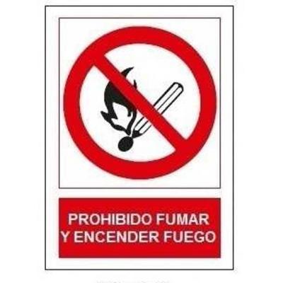 JG SEÑALIZACION SEÑAL PROHIBIDO FUMAR/ENCEN.FUEGO SP853