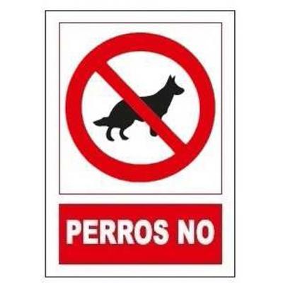 JG SEÑALIZACION SEÑAL PROHIBIDO PERROS NO SP864