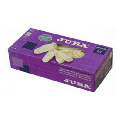 JUBA GUANTE PP2328/T-XL DESEX.LATEX C-100