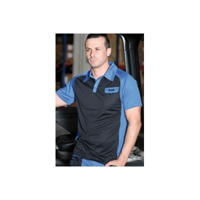 JUBA POLO TOP RANGE COOL WAY 994 T-M AZUL/NGR