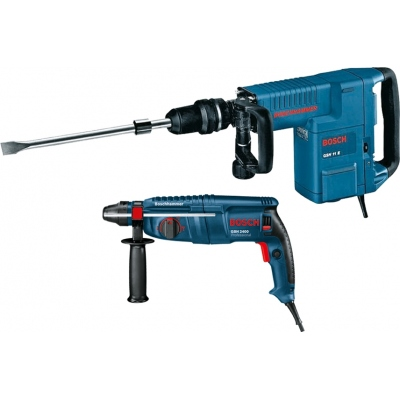 BOSCH MARTILLO GSH-11-E+MARTILLO GBH-2400