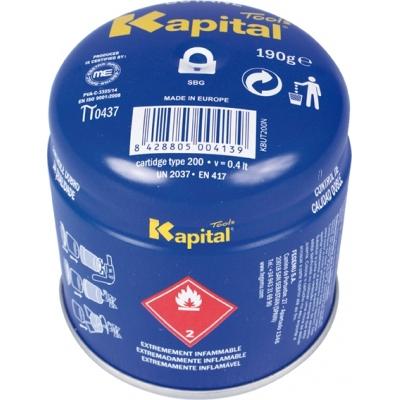 KAPITAL CARTUCHO GAS KBUT200N C/VALVULA