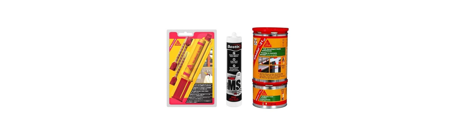 Adhesivos elásticos y estructurales