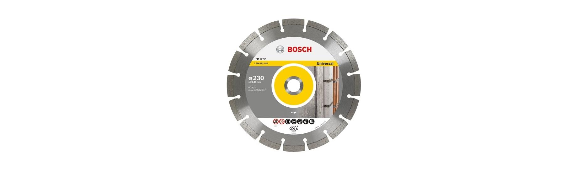 Discos diamante Bosch Husqvarna