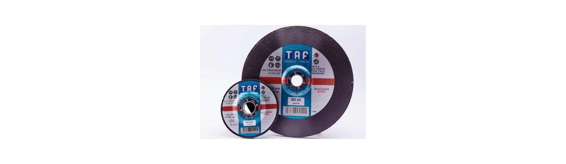 disco desbaste metal TAF